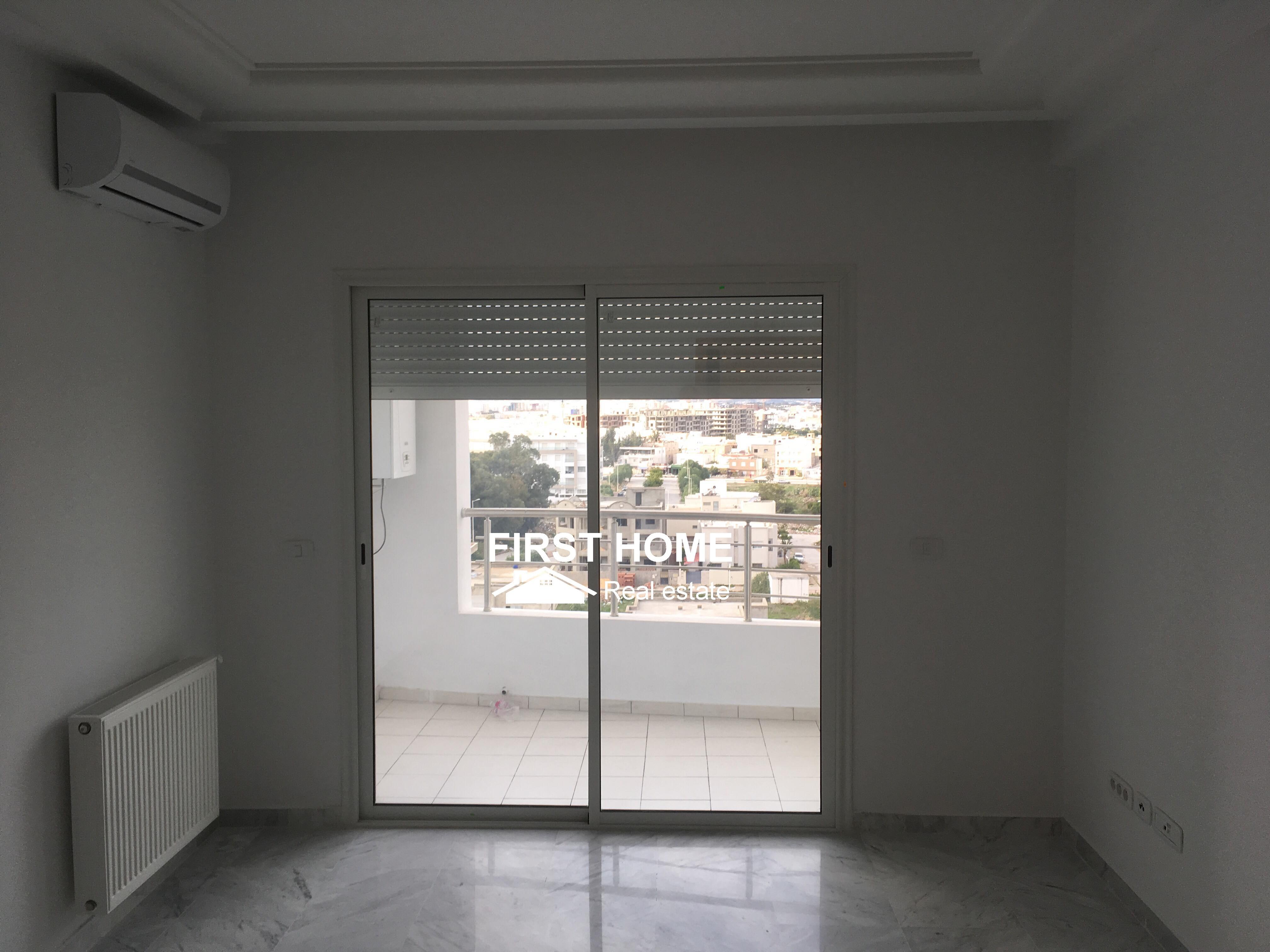 Un Appartement S+2 est en Location aux jardins de carthage