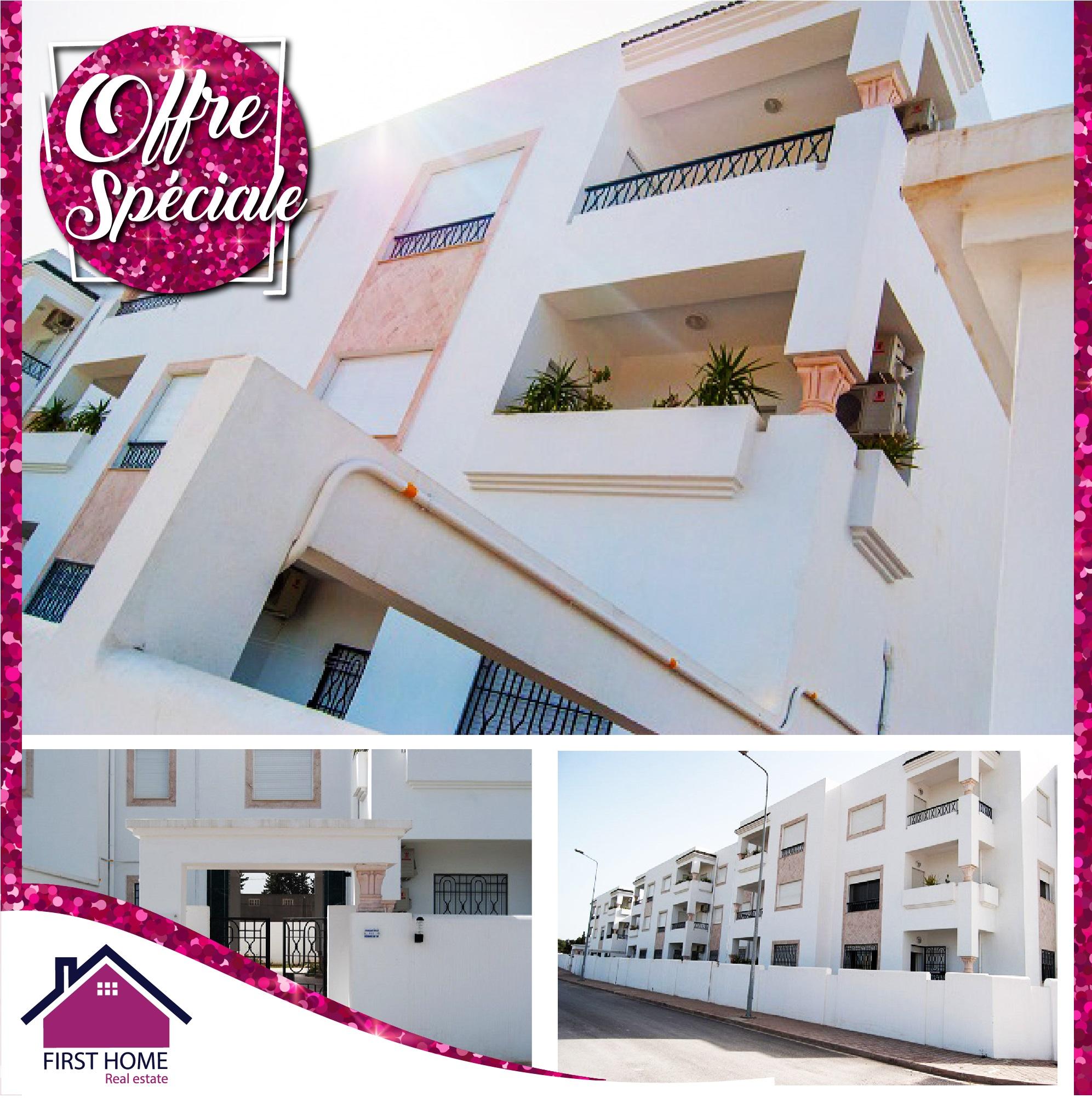 Des appartements haut standing S+3 en vente à Chotrana I