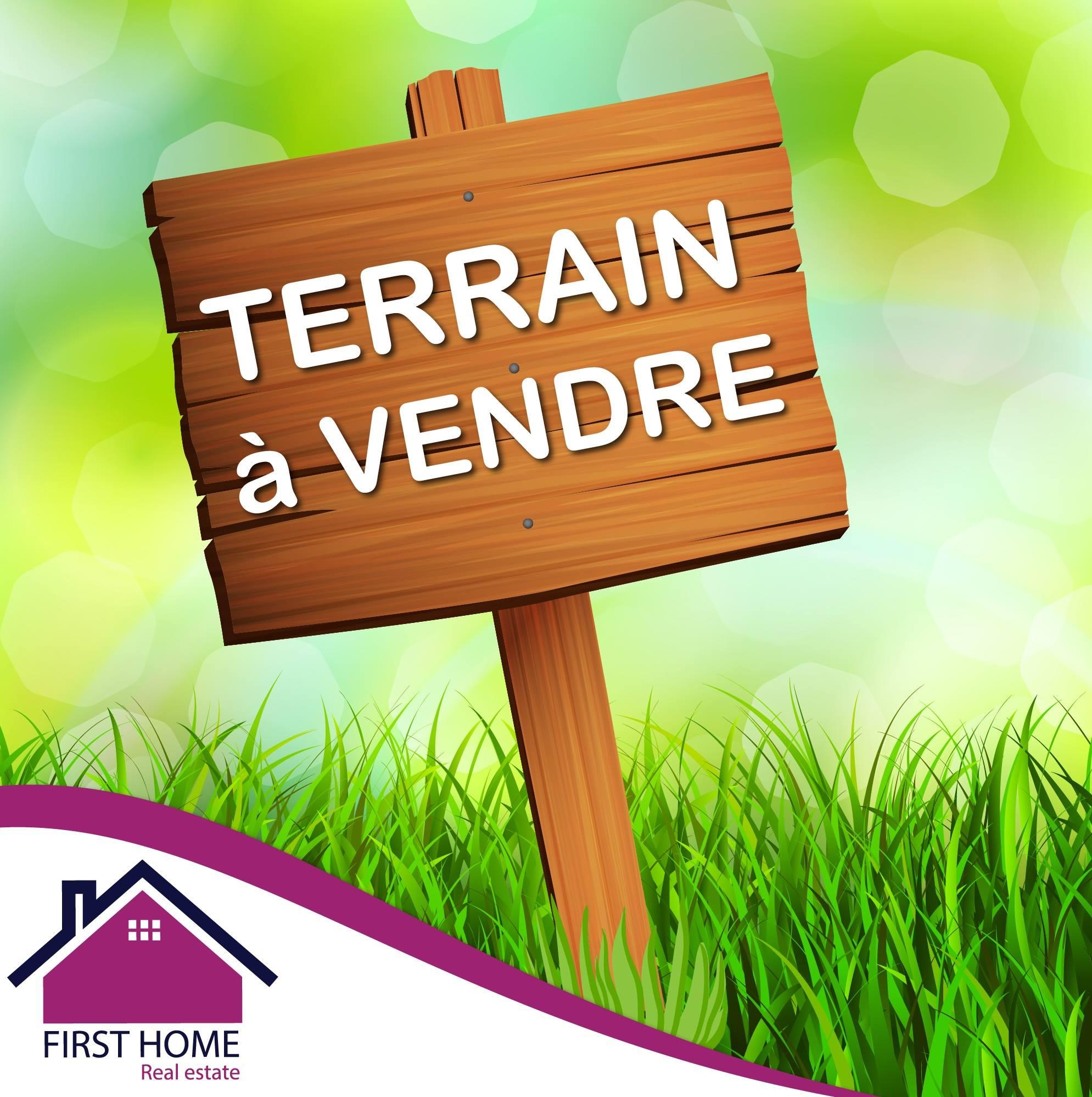 A vendre un terrain de 1612 m² à Raoued