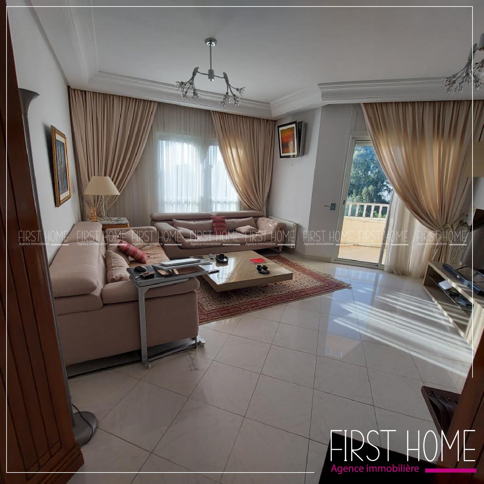 A vendre un Appartement S+2 à Chotrana 1