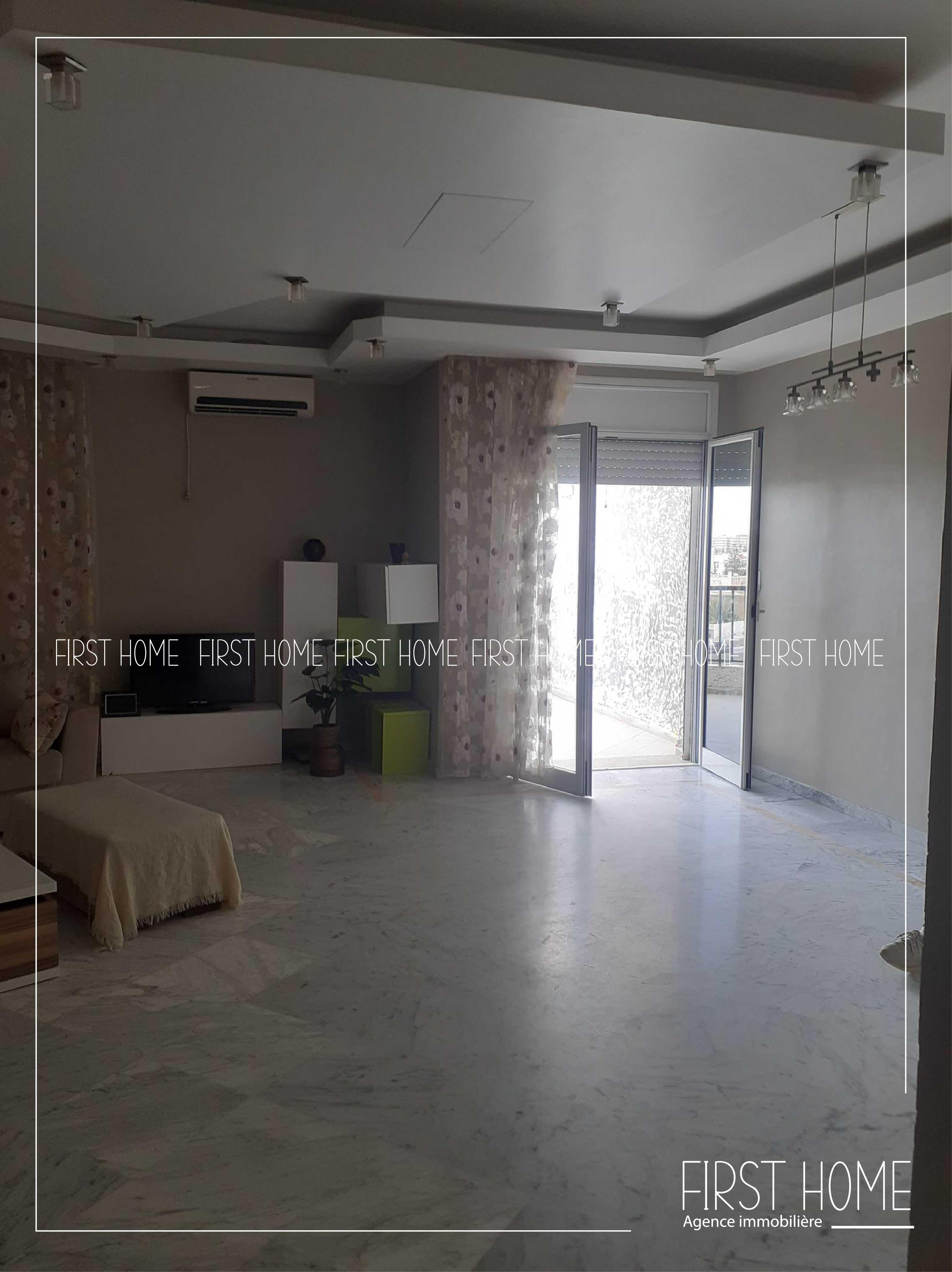 A louer un appartement de haut standing à Cité Ennasr