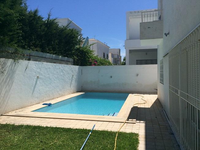 Superbe Villa S5 Meublée Sidi Daoud