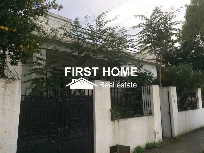 A Vendre une maison Ancienne et terrain au Bardo