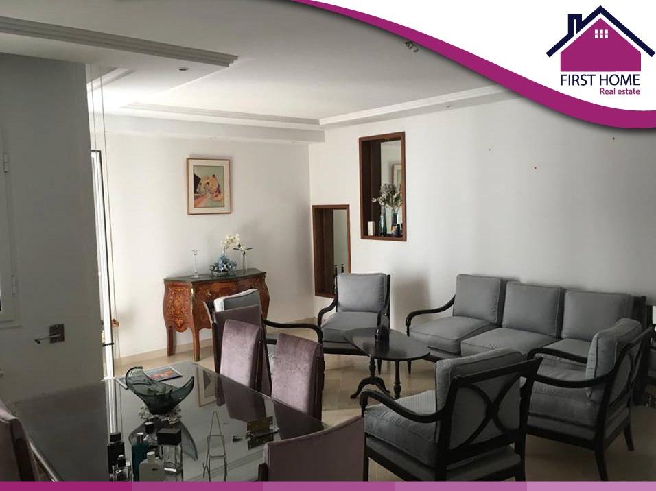 Un Appartement S+3 en location aux Jardin de l'Aouina