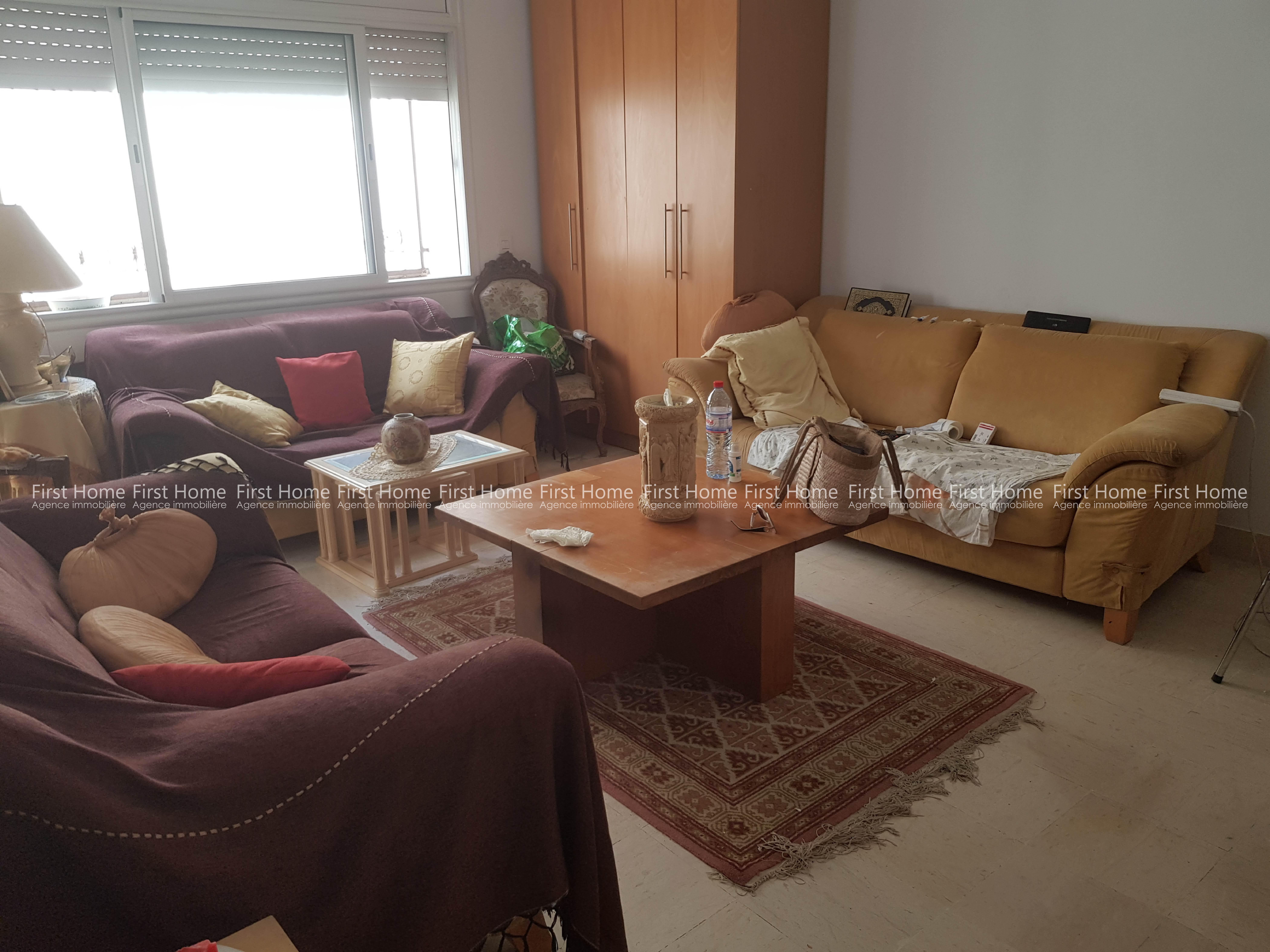 A vendre un Appartement avec jardin à Riadh Andalous